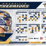 Predators Home Game Schedule Nashville Guru