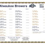 Printable 2020 Milwaukee Brewers Schedule