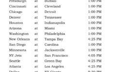 Printable NFL Week 14 Schedule Pick Em Office Pool 2016