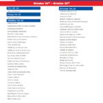 Printable Week 9 College Football Schedule 2020