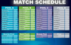 Rugby World Cup Schedule Printable
