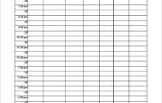 School Schedule Template 19 Free Word Excel PDF