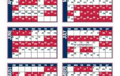 St Louis Cardinals Printable Schedule