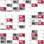 The Best Chicago Bulls Schedule Printable Jackson Website