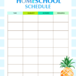 The Best Homeschool Planner In Printable PDF For Free