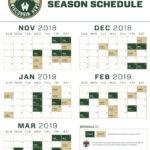The Best Milwaukee Bucks Schedule Printable Hudson Website