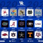 University Of Kentucky Basketball Schedule 2020 2021 KY