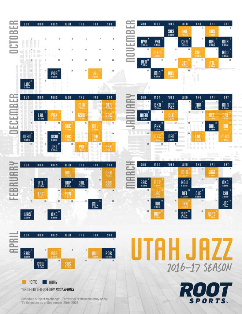 Utah Jazz ROOT SPORTS