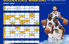 Warriors Announce First Half Of 2020 21 Season Golden