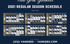 Yankees Release 2021 Schedule Muscle Sport Magazine