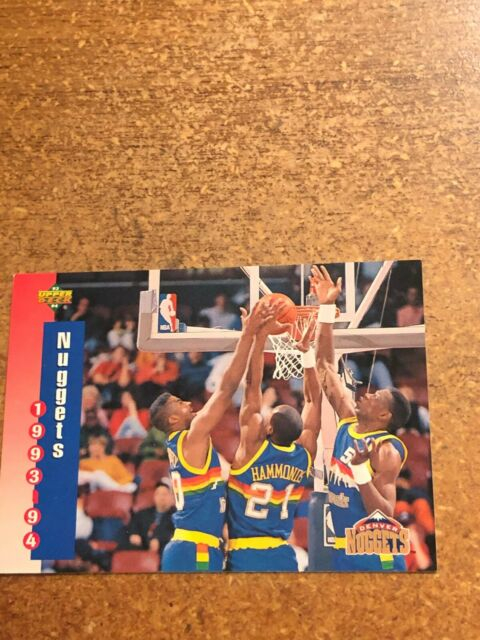 1993 94 Upper Deck Basketball 216 Denver Nuggets