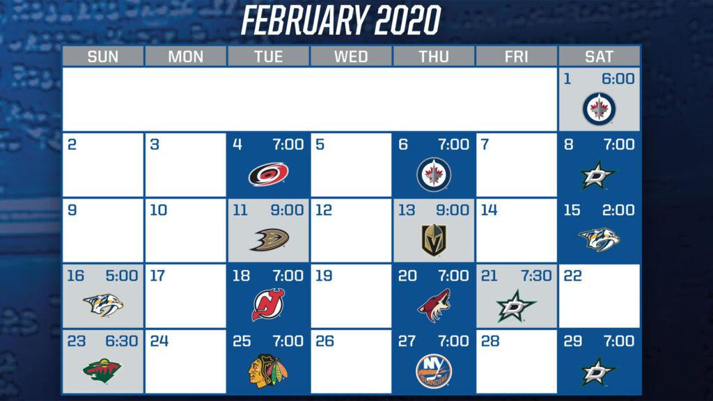 2019 20 Promotions Schedule St Louis Blues