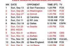 2020 2021 Arizona Cardinals Lock Screen Schedule For