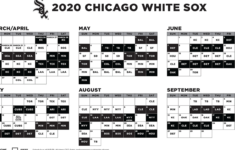 2020 White Sox Schedule Reveal Day Is Here South Side Sox