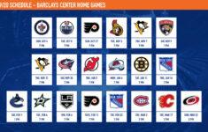 2021 2022 New York Rangers Calendar Calendar Page