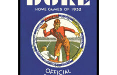 2021 Vintage Duke Blue Devils Football Calendar Asgard Press