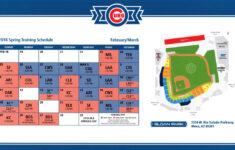 A Look At Cubs Spring Training Season Tickets Bleed