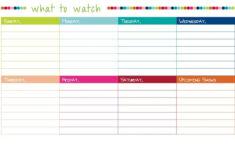 A Package On My Porch Schedule Planner Schedule