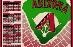 Arizona Diamondbacks 2021 Schedule Digital Download Etsy