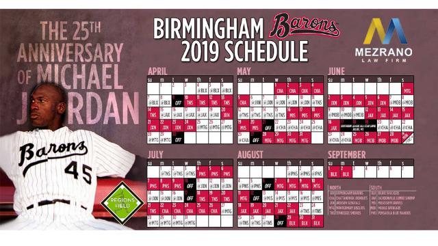 Barons Release Full 2019 Schedule Barons