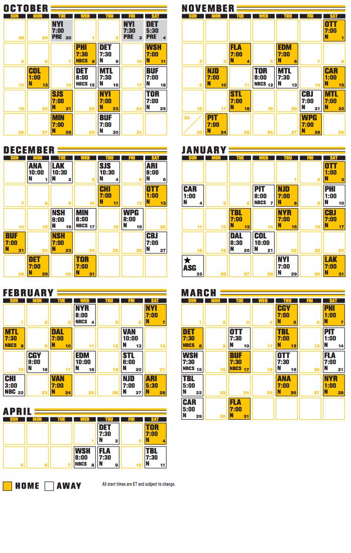Best Bruins Printable Schedule Vargas Blog