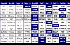 Big Ten Football Schedule 2013 Print 2013 Big Ten