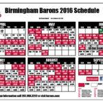 Birmingham Barons Schedule 2016