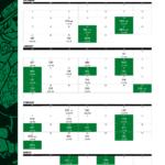 Boston Bruins Printable Schedule 2019 20 Pdf