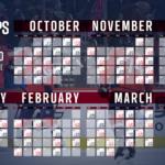Capitals Announce 2019 20 Regular Season Schedule NHL