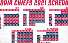 Chiefs Announce 2021 Schedule MiLB