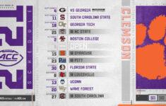 Clemson Football 2021 Schedule Released Clemson Sports News