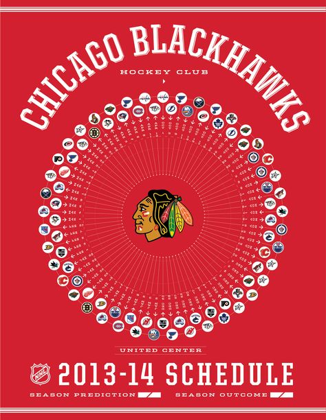 Cool Schedule Poster For The biggest Bunch Of Beauties In