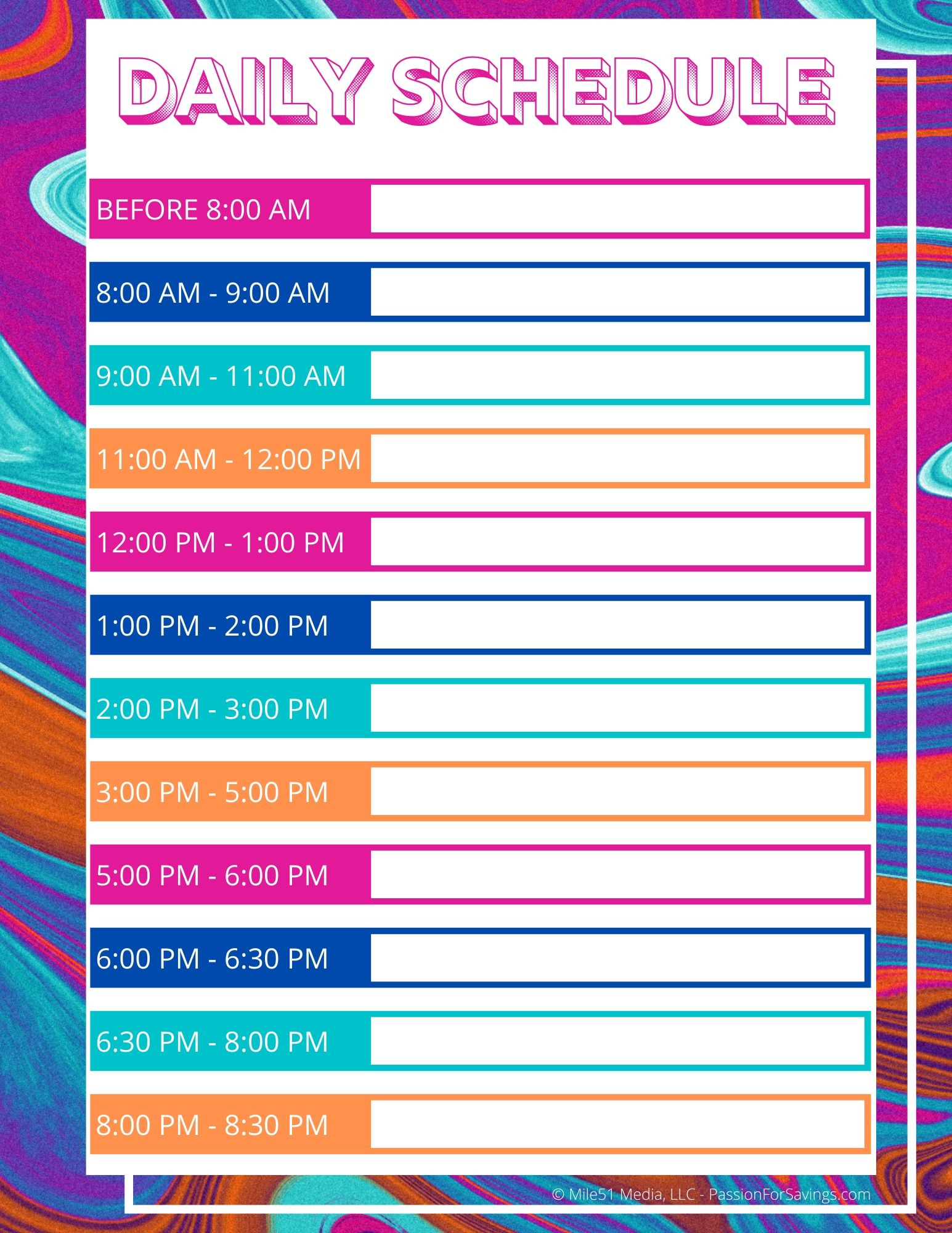 Daily Schedule For Kids While They Are All Home Right Now