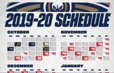 Download A Printable Pelicans 2019 20 Schedule