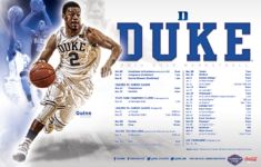Duke Basketball Schedule Printable That Are Nifty