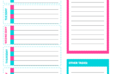 Free Printable Weekly Cleaning Checklist Weekly Cleaning