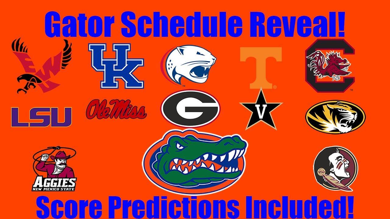 Gators Football Schedule Reveal 2021 Predictions