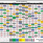 Get Printable Nfl Schedule By Week Calendar Printables
