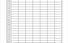 Hourly Schedule Template 11 Free Sample Example Format