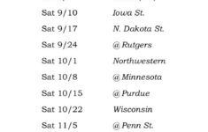 Iowa Hawkeyes 2016 Football Schedule For Our Partner Tom