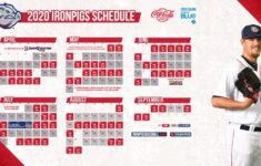 IronPigs Announce 2020 Schedule IronPigs