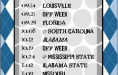 Items Similar To Printable University Of Kentucky Football