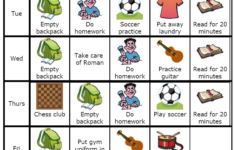 Make Your Own List Mobile Or Printed Kids Schedule