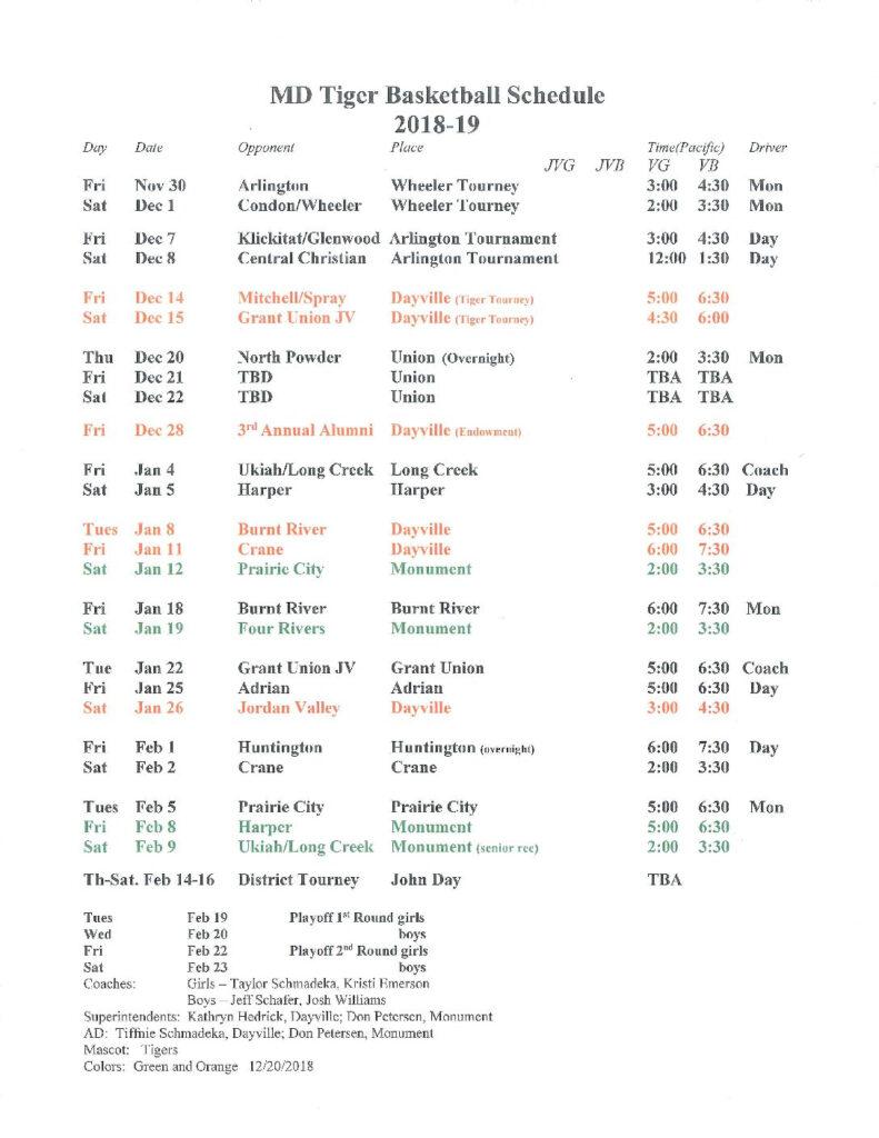 Maryland Basketball Schedule 2019
