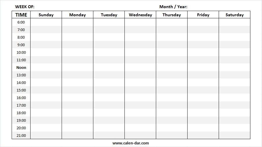 May 2019 Weekly Calendar Printable Make A Week Wise