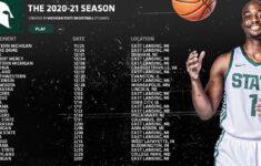 Men S Basketball Schedule For 2020 21 Season Announced