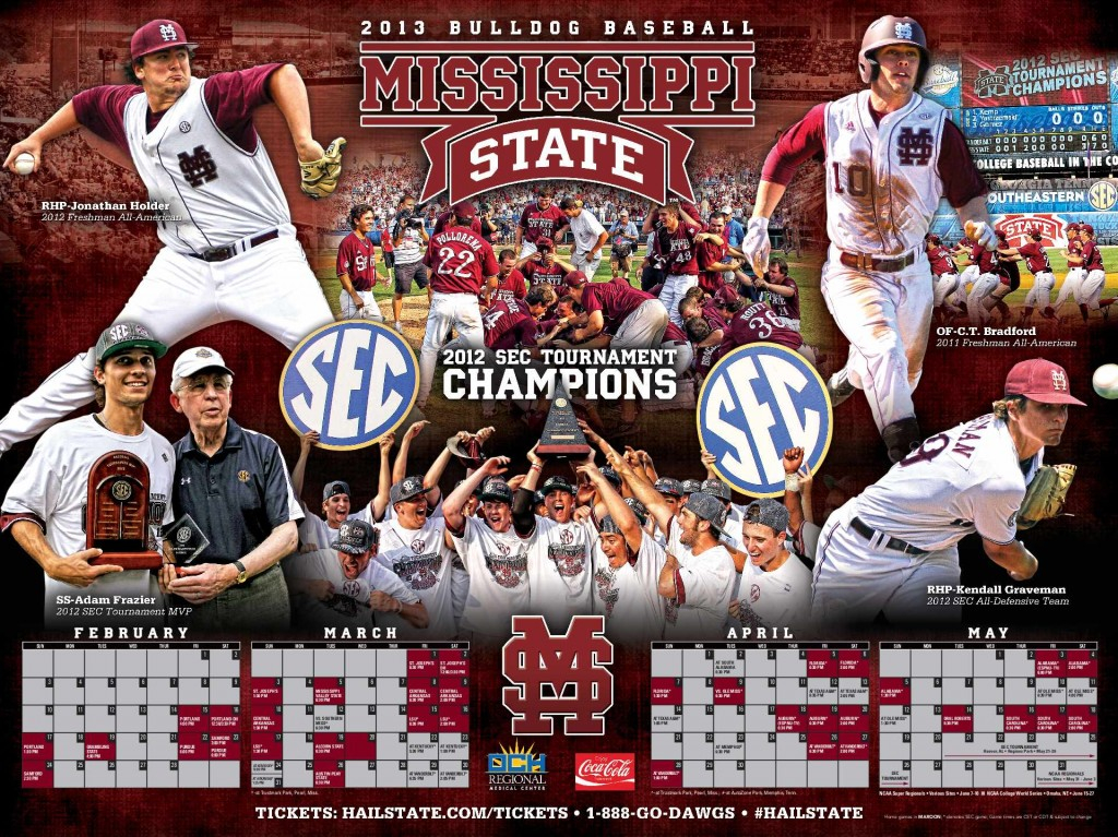 Mississippi State Baseball Schedule The Bulldogs Team