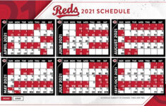 MLB Reds And Other Team Schedules Released For Regular