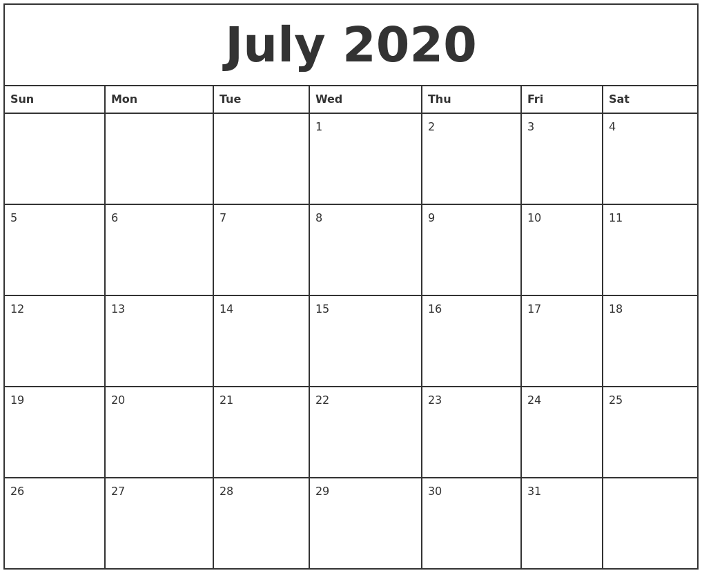 Monthly Schedule Template July 1 Five Reasons Why People