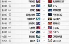 NFL Crossflexes In Week 8 CBS Gets Seattle Carolina Fox